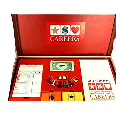 Careers Board Game 1965 Version