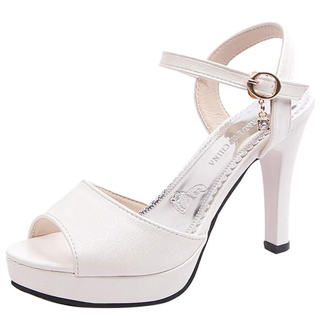 Darringls_Zapatos de Invierno Mujer,Botas de Plataforma Botas con Cremallera Baja Botas de Tubo Medio Zapatos Casuales Zapatos de tacón Medio: Amazon.es: ...