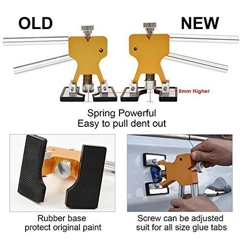 Dent Puller Kit Furuix 56pcs PDR Tools Paintless Dent Repair Glue Dent Repair Dent Removal Tools PDR Kit by Furuix (Image #3)