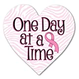 One Day at a Time Breast Cancer Indoor Magnet