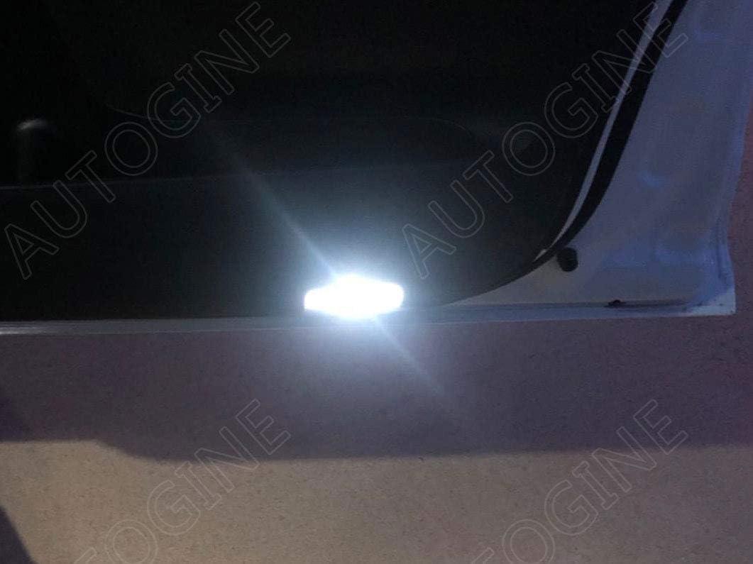 Install Tool AUTOGINE 13 Piece White Interior LED Lights Kit for Toyota Highlander 2014 2015 2016 2017 2018 2019 Super Bright 6000K Interior LED Light Bulbs Package