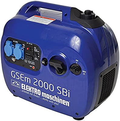 Profesional sioneller 2,0 kW Generadores de corriente/Generador gsem 2000 SBI Inverter/compacto ligero móvil Silencioso RMS Stark/Motor de gasolina