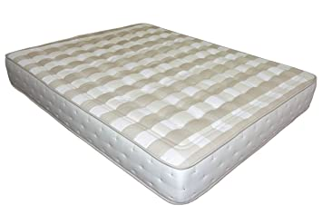 SUENOSZZZ-Colchón de muelles ensacados + Viscolastica. *Continental* - (Camas 150 cms) Medida 150 x 200. Color Blanco/Beige Tostado: Amazon.es: Hogar