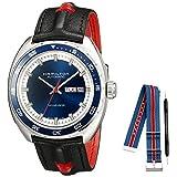 Hamilton Men's American Classic H35405741 Black Leather Swiss Automatic Watch