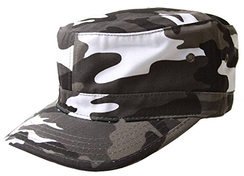 - MM Collections Unisex Adjustable GI Cap, Urban Camo