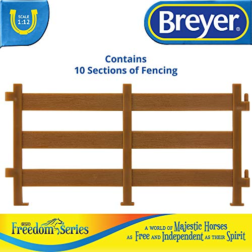 Breyer Freedom Series (Classics) Horse Corral Fencing Accessories Set | 10Piece Accessory Set | 1: 1 - http://coolthings.us