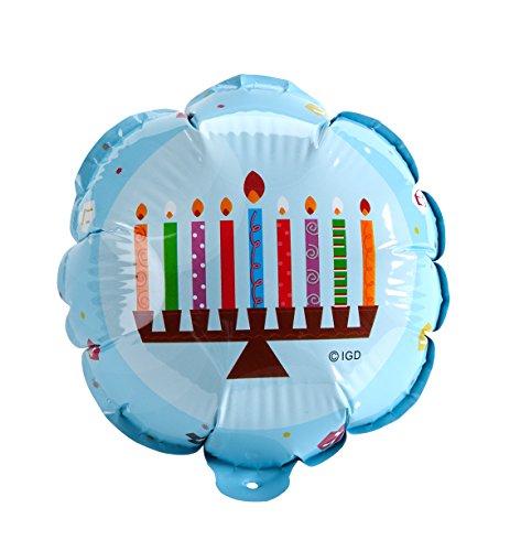 - Hanukkah Decoration - Hanukkah Balloon with Menorah Design for Hanukkah - Self Inflating (2-Pack) Chanukah Decoration - Great for Hanukkah Party