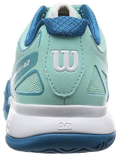 Wilson Ruash Pro 2.0, Kvinner Tennis Sko, Igllublue / Azureblue / Ul Wil Blå