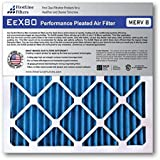 FirstLine Filters 14x36x1 MERV 8 Pleated AC Furnance Air Filter, Box of 6