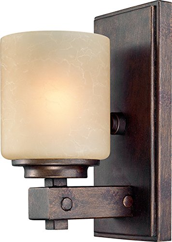 Light One Northfield (Dolan Designs 2706-90 1Arm Sienna Sherwood 1 Arm Wall Sconce)