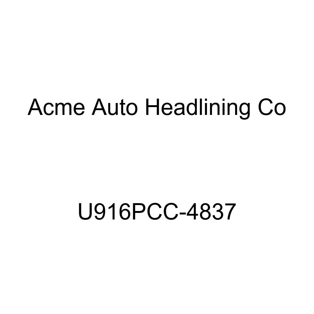 Acme U916PCC-4837 Front and Rear Medium Blue Vinyl Bench Seat Upholstery