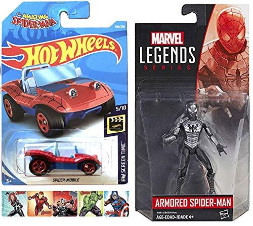 Legends Armor Spidey GO Super Marvel Armored Suit Action Figure 3