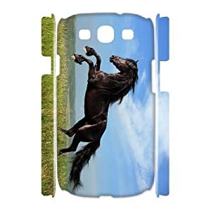 ALICASE Cover Case Horse 3D Diy For Samsung Galaxy S3 I9300 [Pattern-1]