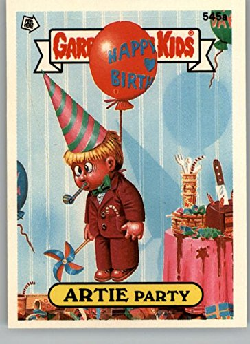 1988 Garbage Pail Kids Series 14 #545a Artie Party with * by Topps