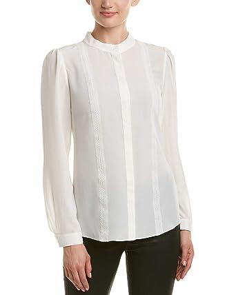 e3e02146ad5db Reiss Womens Maly Lace Silk Blouse