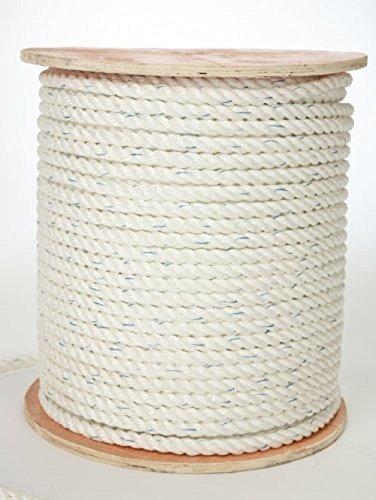 """Poly-Combo 3-Strand Safety Rope 5/8"""" X 1200'"""