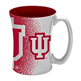 NCAA Indiana Hoosiers Sculpted Mocha Mug, 14-ounce