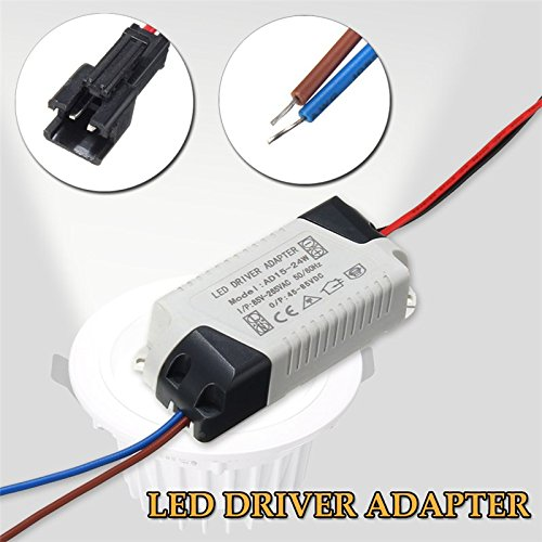 15W-24W LED Driver AC 120V/240V to DC 45V-85V Transformer Power Home Converter - - Amazon.com