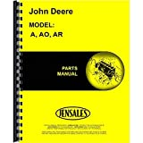 New Parts Manual For John Deere Tractor A 477000+