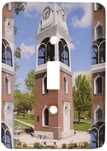 (3dRose lsp_61697_1 Bell Tower on the University of Rio Grande Campus Single Toggle Switch)