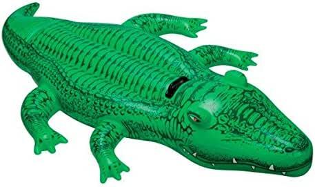 Euroweb Flotador en forma de cocodrilo hinchable – Juego mar y piscina: Amazon.es: Electrónica