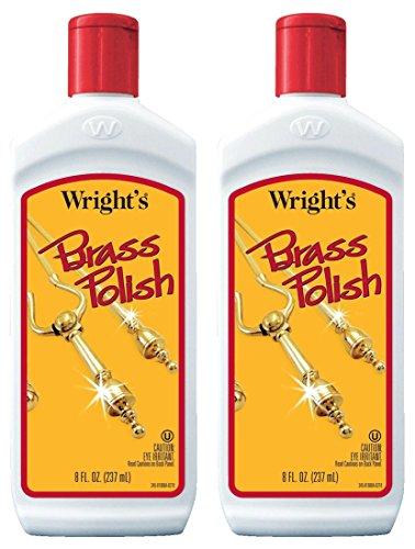 Wright's Brass Polish 8 oz. (2-Pack)
