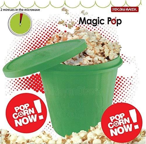 Verde Magic silicona microondas palomitas de maíz eléctrica ...