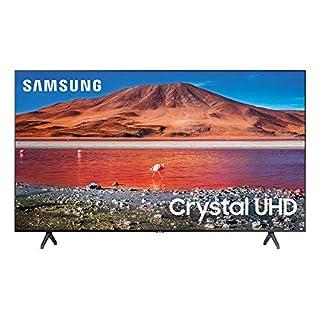 Samsung 43-inch Class Crystal UHD TU-7000 Series - 4K UHD HDR Smart TV with Alexa Built-in (UN43TU7000FXZA, 2020 Model)