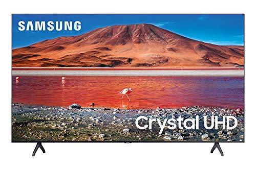 Samsung 43-inch TU-7000 Series Class Smart TV | Crystal UHD - 4K HDR - with Alexa Built-in | UN43TU7000FXZA, 2020 Model