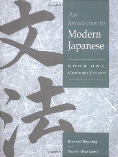 Book An Introduction to Modern Japanese: Book 1
