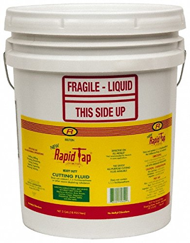 RELTON Rapid Tap Cutting Fluid - Container Size: 5 Gallon Pail MODEL : 05G-NRT by Relton