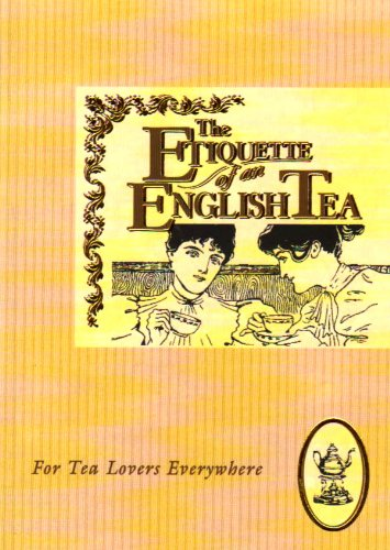 Beech Entertainment Center - Etiquette of an English Tea (The etiquette collection)