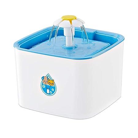 Fuente De Agua para Gatos, 2.5L Fuente De Agua para Mascotas ...