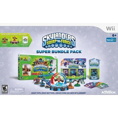 Skylanders SWAP Force Super Bundle Pack For Nintendo Wii by Nintendo