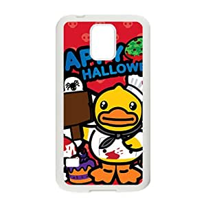 Hope-Store Lovely B.Duck Happy Halloween fashion cell phone case for samsung galaxy s5