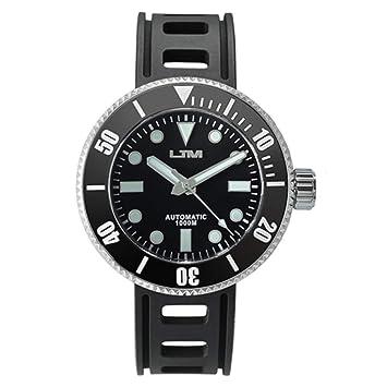 BINGABSFW Reloj Reloj de Acero Inoxidable Cristal de Zafiro 1000 m Resistente al Agua Relojes Hombre 2018 Reloj de Buceo Informal: Amazon.es: Deportes y ...