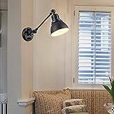 Plug in Wall Sconces Lamp, YEEQIAN Swing Arm Wall