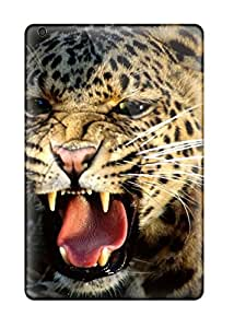 New Style 8700737J99563953 High Grade Flexible Tpu Case For Ipad Mini 2 - Snarling Cheetah