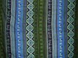 Indian Print Tapestry Cotton Bedspread 106'' x 88'' Full-Queen Blue