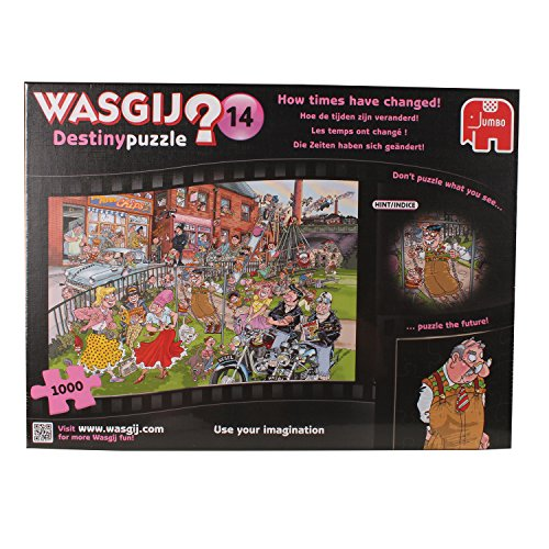 Wasgij - Destiny Puzzle 14 - How Time Have Changed - 1000pc Jigsaw