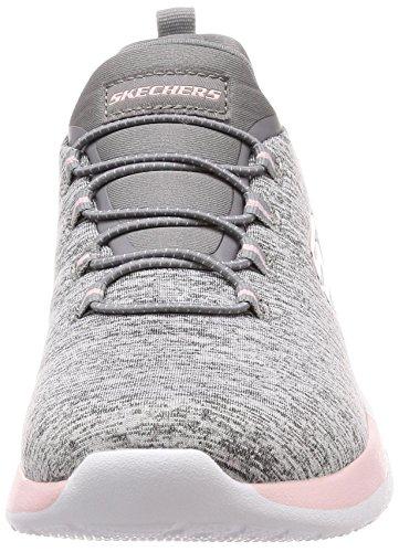 Skechers 12991 / Mosca Versione Sneaker Signora Dynamight-break-through Grau / Rosa Grau