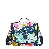 Kipling Women's Kichirou Lunch Bag One Size Luscious Florals Blue