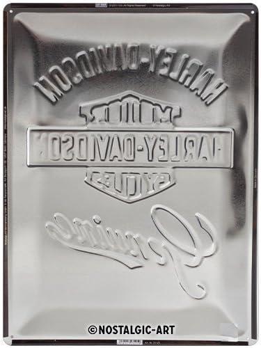 Metallo Multicolore Nostalgic-Art Targhe 4 x 3