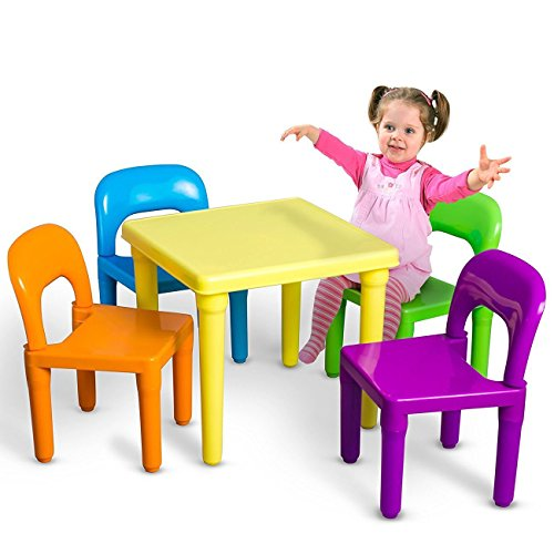 Table Set Kids And Chairs Chair Play Children Furniture Activity Toddler
