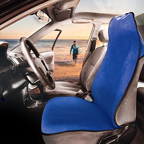 FH Group FH1006BLUE Water Resistant Quick Dry Car Seat Cover Workouts, Gym, Yoga, Beach Anti-Slip Backing