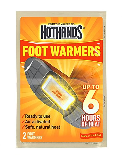 HotHands Foot Warmers - Long Lasting Safe Natural Odorless Air Activated Warmers - Up to 6 Hours of Heat - 40 Pair by HotHands (Image #2)