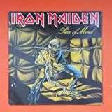 IRON MAIDEN Piece Of Mind EMI 1A 064 07724 BIEM STEMRA LP Vinyl VG+