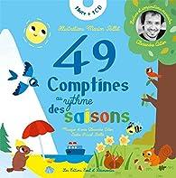 49 comptines au rythme des saisons par Pascal Boille