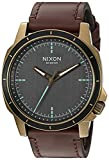 Nixon Men's  Ranger Ops  Quartz Leather Watch Brown