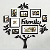 Hello Laura Family set – Made to Display Three 4×6 Photos – Ready To Hang or Stand With Built in Easel